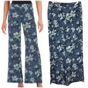 MaxMara Weekend Silk Wide Leg Palazzo Pant Floral